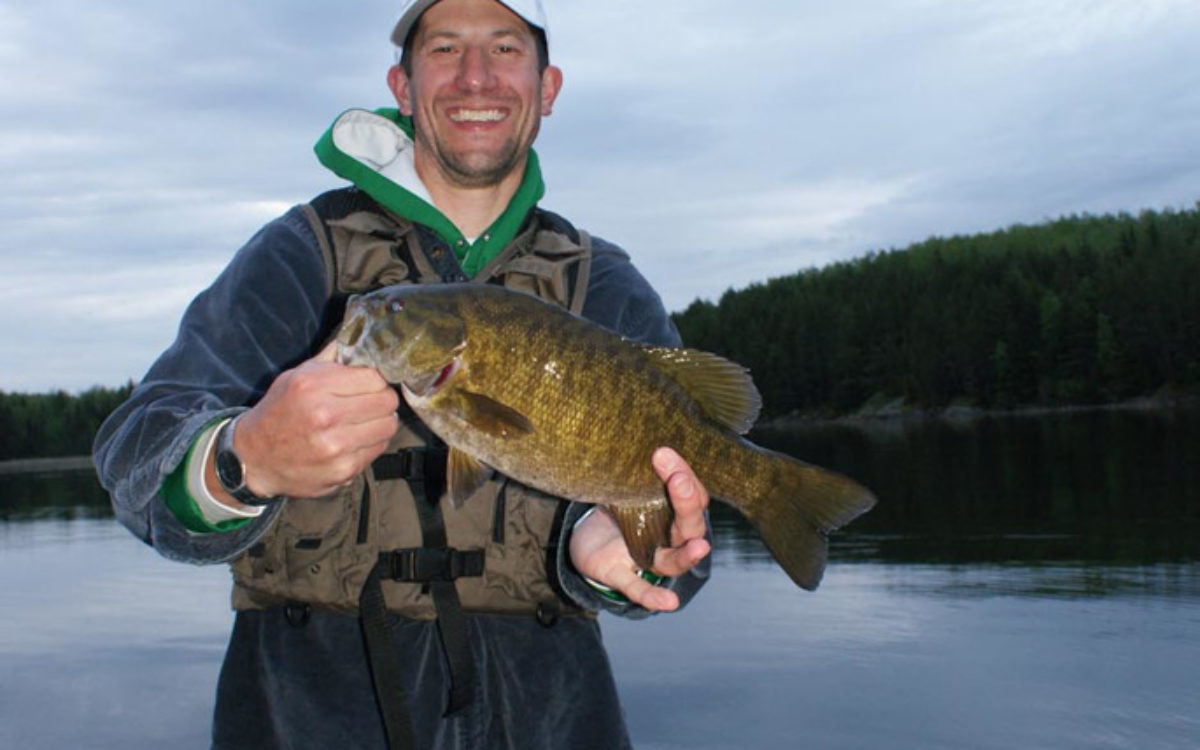 Smallmouth bass fishing south shore lodge for Smallmouth bass fishing