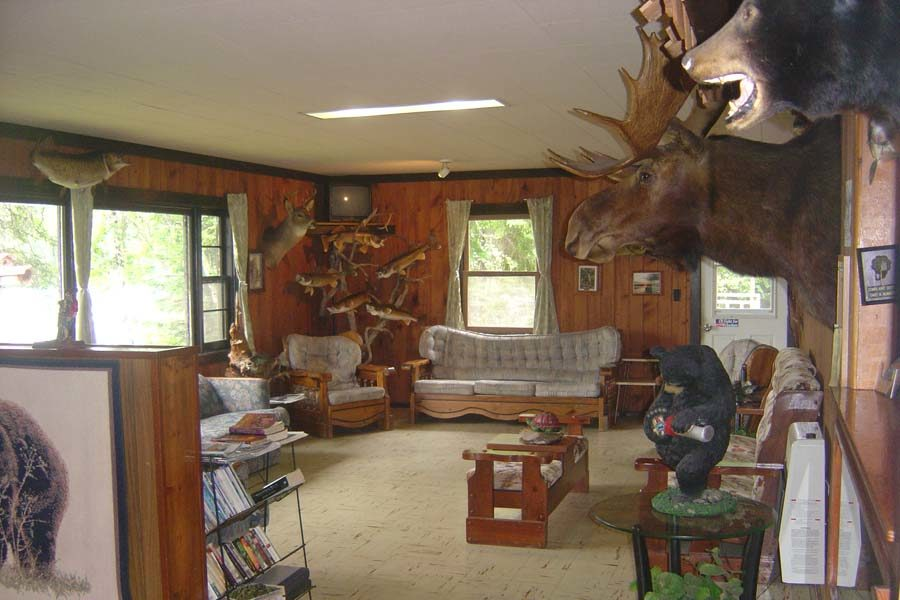 At the Lodge