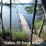 Cabing 10 dock after